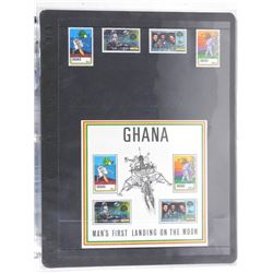 Lot of 8 Stamps - Ghana.