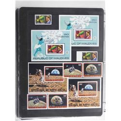 Lot of 10 Stamps - Maldives & Republique De Haute Volta.