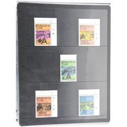 Lot of 5 Stamps - republique Dutchad.