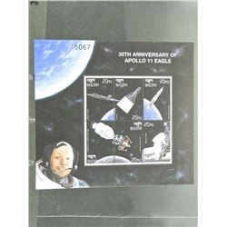 Lot of Stamps - 30th Anniversary of Apollo 11 Eagle.