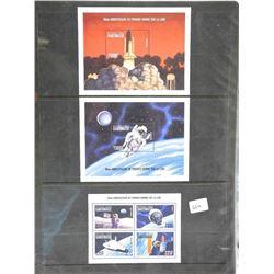 Lot of Stamps - 30th Anniversaire Du Premier Homme Sur La Lune - Gabonaise.