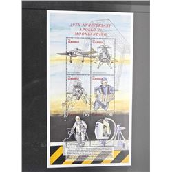 Lot of Stamps - 30th Anniversary Apollo 11 Moon Landing - Gambia.