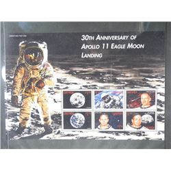 Lot of Stamps - 30th Anniversary of Apollo 11 Eagle Moon Landing.
