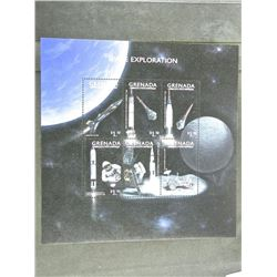 Lot of Stamps - Space Exploration - Grenada.