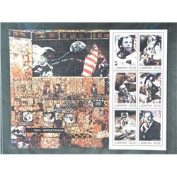 Lot of Stamps - Liberia & 30th Anniversary First Man on the Moon.