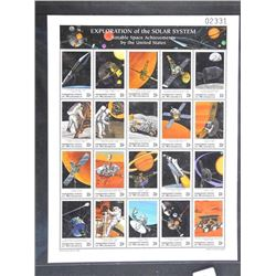 Lot of Stamps - Exploration of the Solar System.
