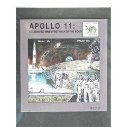 Lot of Stamps - Apollo 11 Celebrating Man's First Walk on the Moon.