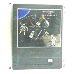 Lot of Stamps - 30th Anniversary of the Apollo 11 Moon Landing.