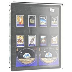 Lot of Stamps - 30th Anniversary of the First Manned Moon Landing - Bahamas & Ascension Island.