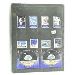 Lot of Stamps - 30th Anniversary of The First Manned Moon Landing - Bermuda & Barbados.