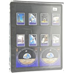 Lot of Stamps - 30th Anniversary of The First Manned Moon Landing - British Virgin Island & Cayman I