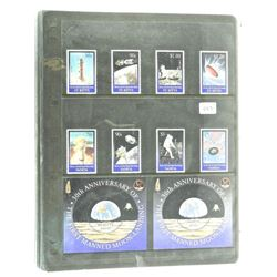 Lot of Stamps - 30th Anniversary of The First Manned Moon Landing - Samoa & St. Kitts.