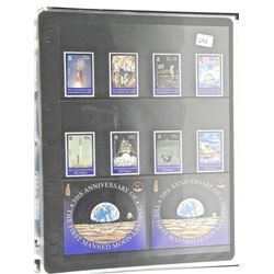 Lot of Stamps - 30th Anniversary of The First Manned Moon Landing - Tuvalu & Solomon Islands.