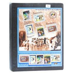 Lot of Stamps - Le Siecle Au Gil Du Timbre.