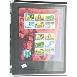 Lot of Stamps - Celebrating The Millennium.