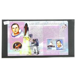 Lot of 7 Stamps - Apollo 11