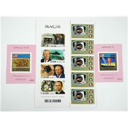 Lot of 11 Stamps - Apollo 11