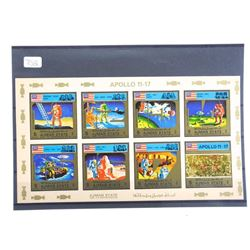 Lot of 8 Stamps - Apollo 11