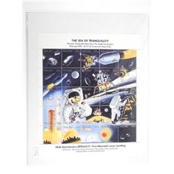 Lot of Stamps - Apollo 11