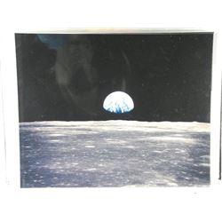 """8x10"""" Picture Apollo 11 Moon."""