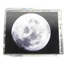 "8x10"" Apollo 11 Moon."