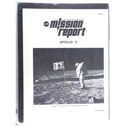 "8x10"" Picture Mission Report Apollo 11."