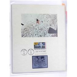 Stamp Lot - First Man on the Moon.