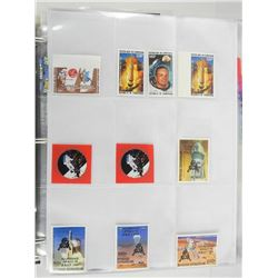 Lot of 10 Stamps - Apollo 11.