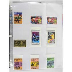 Lot of 9 Stamps - Republique Du Tchad.