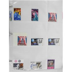 Lot of 9 Stamps.