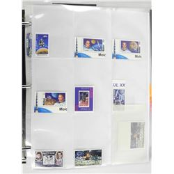 Lot of 9 stamps - Monaco.