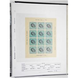 Lot of 12 Stamps - First Man on the Moon.