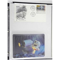Lot of 2 Stamps - Mans First Landing on the Moon.