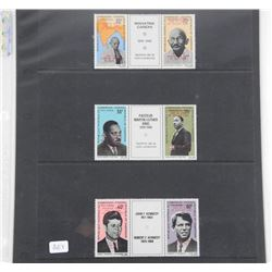 Lot of 6 Stamps