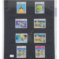 Lot of 8 Stamps