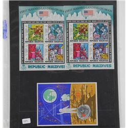 Lot of 9 Stamps