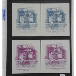 Lot of 4 Stamps
