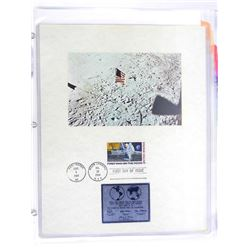 Moon Landing and Commemorative Stamp