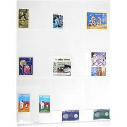 Lot of 10 Apollo Stamps