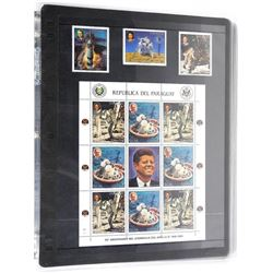 Lot of 12 Apollo 11 Stamps