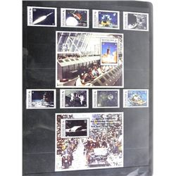 Lot of 10 Apollo 11 Stamps
