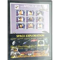 Lot of 21 Apollo 11 Stamps