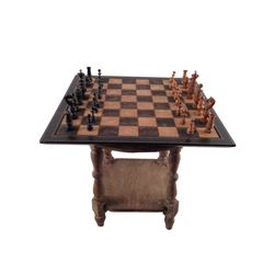 The Hateful Eight Sweet Dave (Gene Jones) Chess Set Movie Props