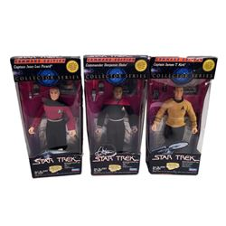 Star Trek Generations 'Playmates' Collector Series Command Edition action figures