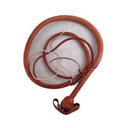 Django Unchained Django's (Jamie Foxx) Screen Used Bull Whip Movie Props