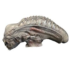 Aliens (1986) Alien Creature Head Movie Props