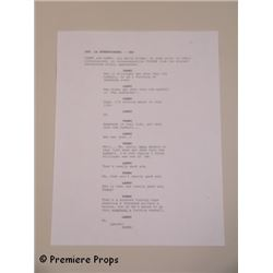 Seven Psychopaths Screen used Script Page Movie Props