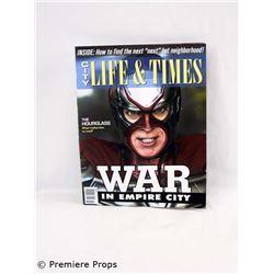 Superhero Movie (2008) City Life & Times Magazine Movie Props