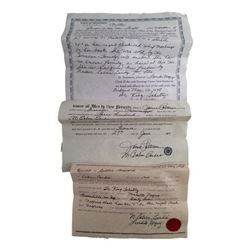 Django Dr. King Schultz (Christoph Waltz) Legal Documents Movie Props