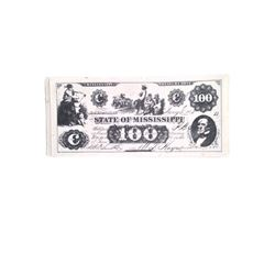 Djanto State of Mississippi $100 Bills Movie Props